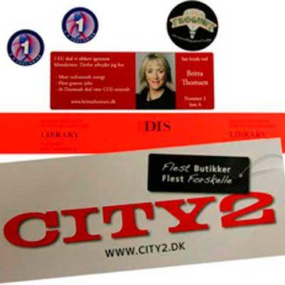 Labels og klistermærker