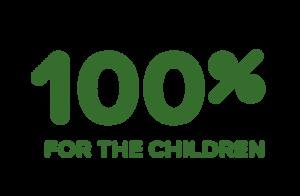 100% til børnene